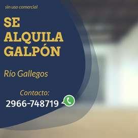 Alquiler de Galpón