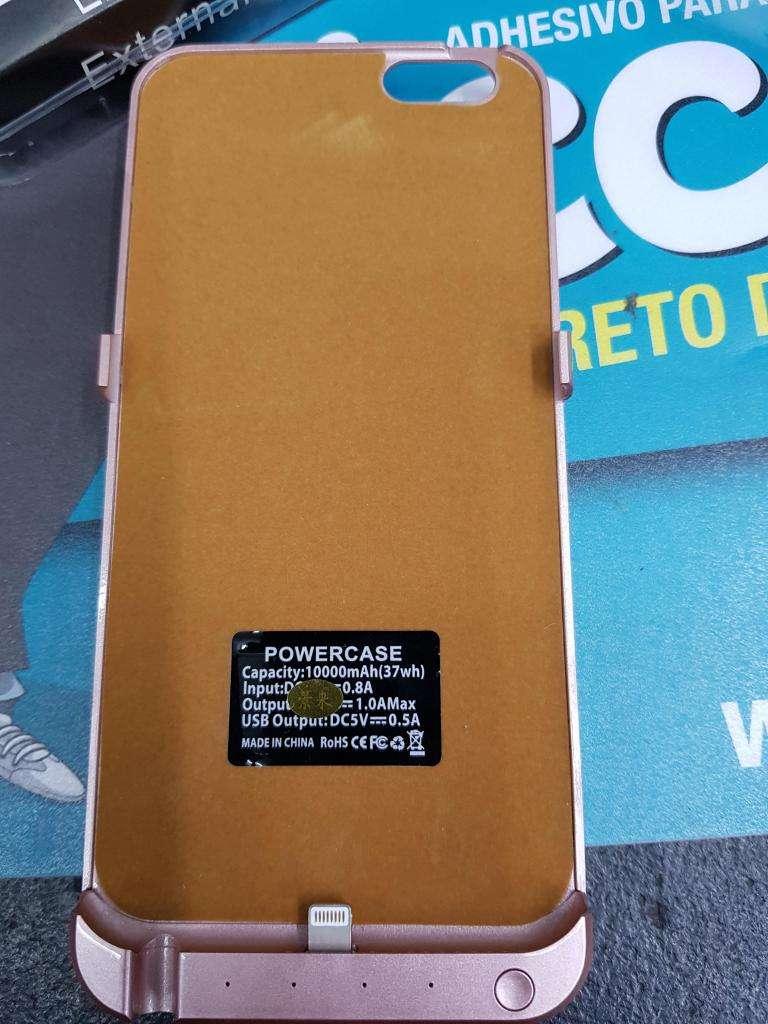 Vendo Funda Batería Cargador para IPhone 6 Plus y/o 6S Plus marca POWERCASE.(NUEVO).
