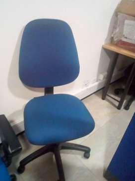 vendo sillas para oficina de segunda