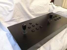 Caja arcade nueva  dos jugadores botones y palancas