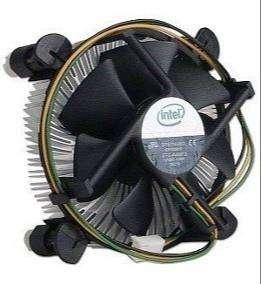 Vendo Cooler De aluminio Para Placas procesador Intel Socket 775 como nuevo