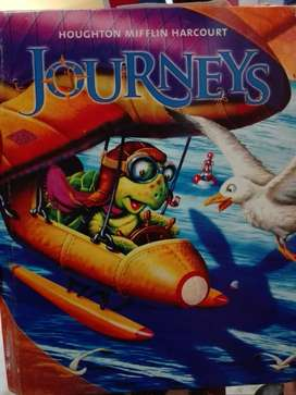 VENDO LIBRO  DE INGLES JOURNEYS DE 2do