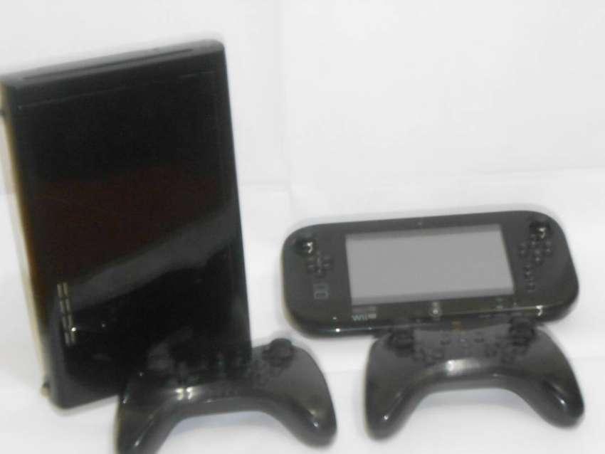 Nintendo Wii U Deluxe Juego de 32 GB con Nintendo land-black (Refurbished Certificado) Como Nuevo 0