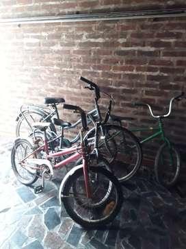 Conjunto  4 Bicicletas