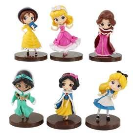 Figuras Princesas Disney Coleccion Por 6 Unidades