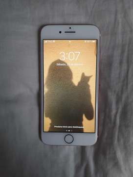 iPhone 7 usado, 1 año de uso, negociable