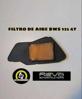 Filtro aire BWS 125 4T