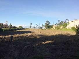 Vendo terreno en Chaltura, sector Bellavista