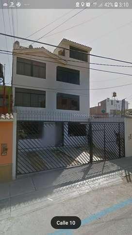 Se alquila departamento ubicado Urb Villa el Sol  , 3er piso , 3 habitaciones , 3 baños
