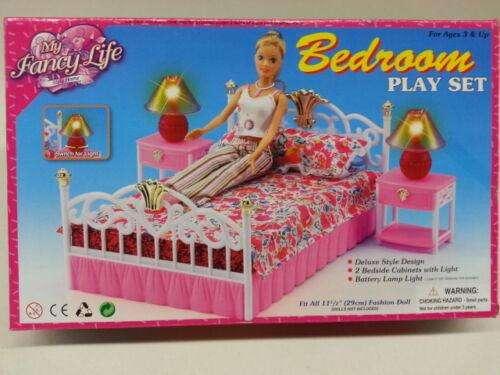 Set De Juegos Dormitorio Para Muñeca Barbie REGALO