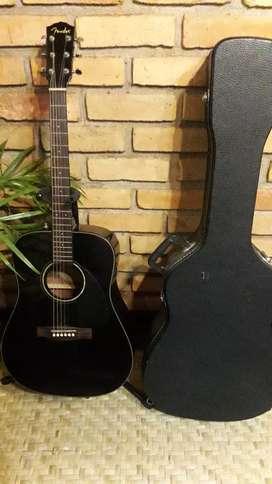 Guitarra acustica Fender con estuche rigido