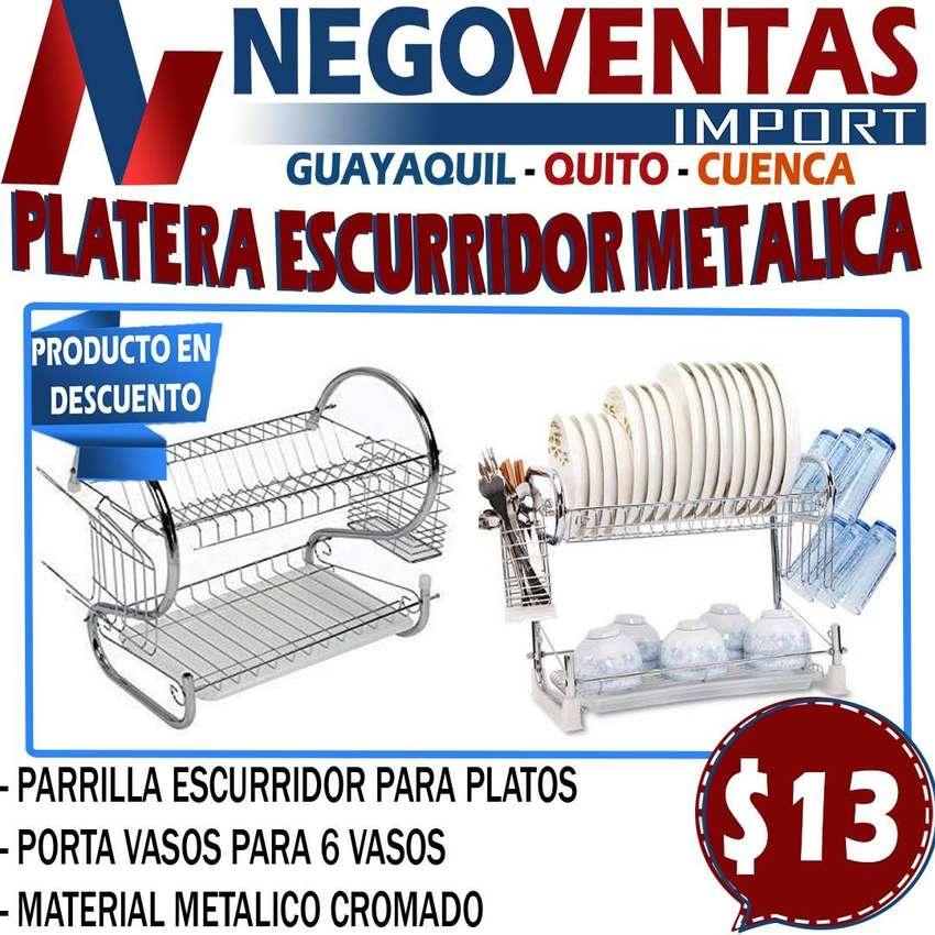 PLATERA ESCURRIDORA METALICA 0