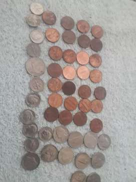 monedas americana