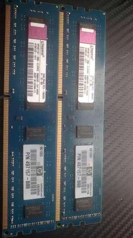 4 GIGAS en memoria RAM dr3 para pc