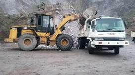 Bocado y volqueta retiro de escombros desalojos