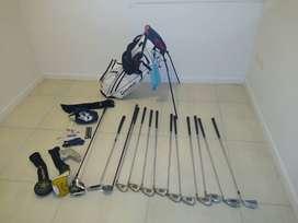 Set Palos Golf Comp.+bolsa  Y Accesorios O Artículos X Sep