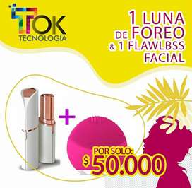 FLAWlBSS FACIAL + LUNA DE FOREO