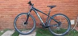 Bicicleta venzo eolo rod 27,5 talle S