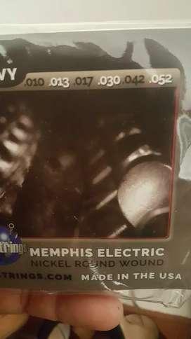 Cuerdas para guitarra electricas made in USA