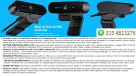 LOGITECH CÁMARA BRIO 4K PRO - AGOTADAS