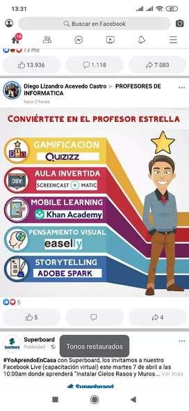 Asesoría en informática, educación, pedagogía y a fines.