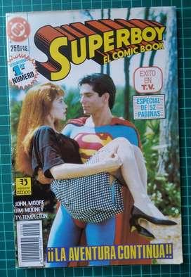 Historieta Superman - Superboy: El comic book - nro 1 (1992)