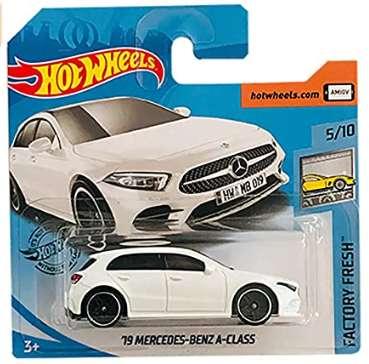 Hot Wheels '19 Mercedes Benz A Class Factory Fresh 5/10 2019 Short Card 0