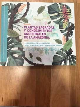Libros sobre las plantas sagradas amazónicas y sus patentes