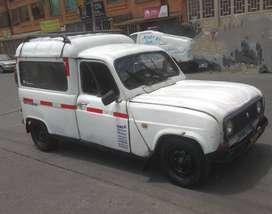 Renault 4, tipo camioneta