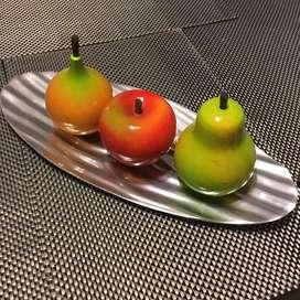Centro de Mesa Comedor 3 Frutas mas Base