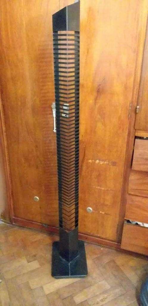 Torre Porta Cd's P/60 Metal Negro 1.60 METROS 0