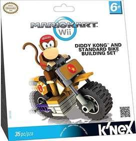 Mario Kart Wii Figura Diddy Kong 35 Pza