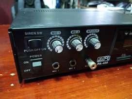 Amplificador PA-480 60w Con USB / SD / Sirena / FM