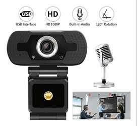 Camara Web Para Pc 1080p Ful Hd Auto Enfoque Audio Integrado