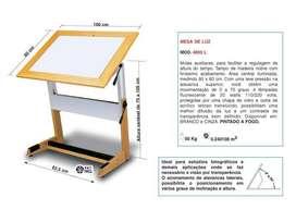 Mesa Tablero de luz 100x80cm 4803-L Trident
