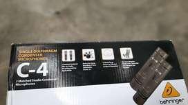 Microfonos Condensadores Beringher C4