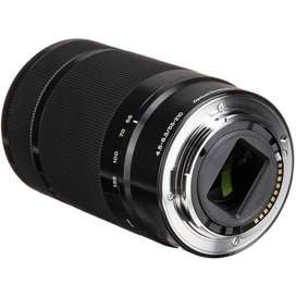 Lente Sony Zoom E 55-210 Mm F4,5-6,3 Oss - Nuevo