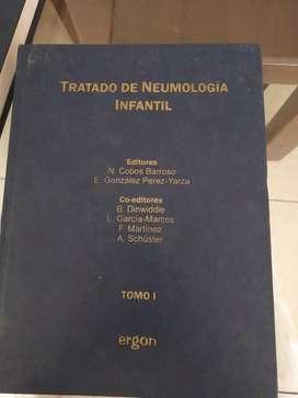 Vendo Tratado de Neumologia Infantil