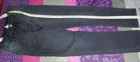 Pantalon CHEEKY talle 14 negro