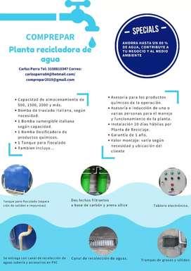 Planta de reciclaje de agua