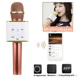 Microfono Inalambrico Bluetooth Karaoke Magico Divertido
