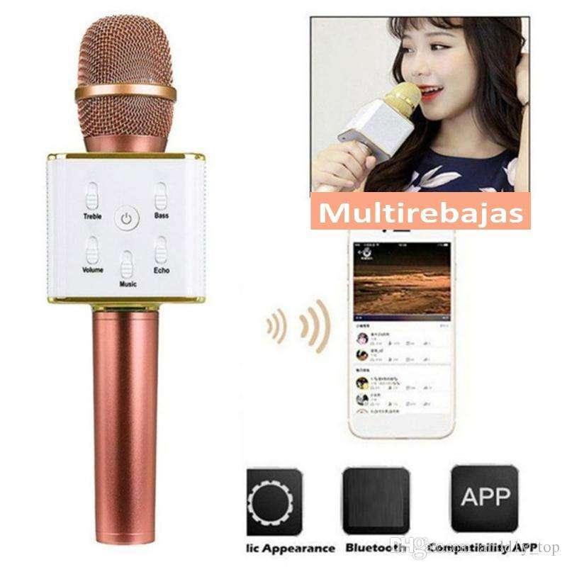 Microfono Inalambrico Bluetooth Karaoke Magico Divertido 0