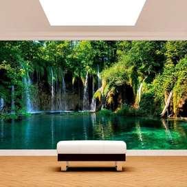 vinilo adhesivo laminado o fotomurales para sus paredes etc, 45.000 m² INSTALADO. con las mejores imágenes del mercado