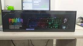 Combo Gamer Teclado y Mouse RGB Retroiluminado (Garantía y Factura)