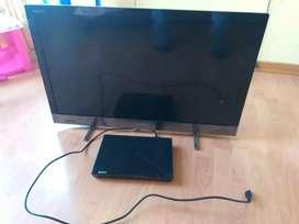 Tv sony bravia LCD de 32 pulgadas + BLU RAY sony BDP-S1200
