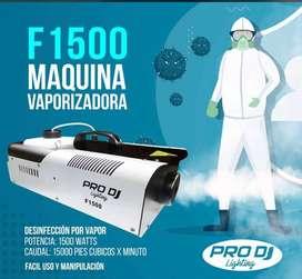 MAQUINA DE HUMO F1500LED