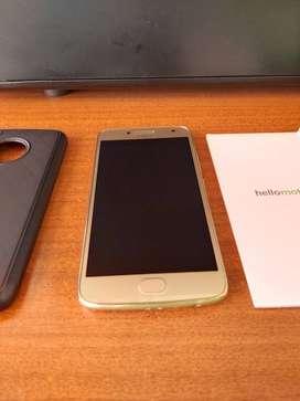 Motorola Moto G5 Plus - Huella 32gb 12mpx 4g Lte Turbocarg