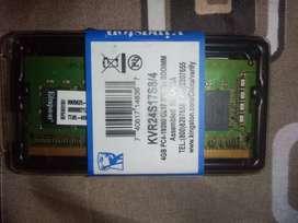 Memoria ram DDR4 de 4gb nueva para laptop kinstong