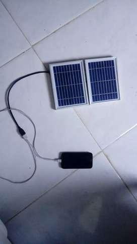 Panel solar muy bueno para aquellos sitios donde no hay fluido electrico