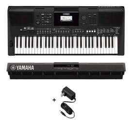 Piano Yamaha PSR-E463 Music Box Colombia Organeta teclado atril bono clases